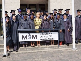 Masters of Business Administration.